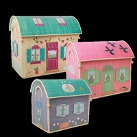 Rice - Large Set of 3 Toy Baskets - House Theme