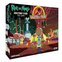Rick and Morty  Anatomy Park  Boardgame MDIEOTHEO02512