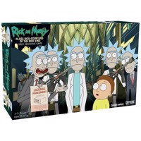 Rick and Morty  Close Rick Counters of the Rick Kind  Deck Building Game MDIEOTHEO02574