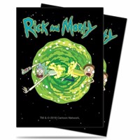 Rick and Morty  Deck Protector Sleeves V3