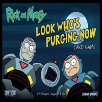 Rick  Morty  Look Whos Purging Now  Card Game English CRY27732