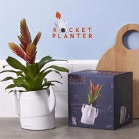Rocket Planter  Ceramic Plant Pot
