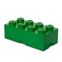 Room Copenhagen  LEGO Storeage Brick 8  Dark Green