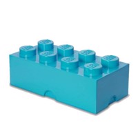 Room Copenhagen  LEGO Storeage Brick 8  Medium Azur 40041743