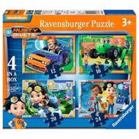 Rusty Rivets Puzzle, 4in2