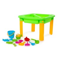 Sand and Water table Deluxe, 18 pcs