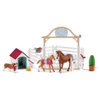 Schleich Hannah39s Guests with Ruby Dog