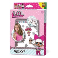 SES LOL Metallic Tattoos