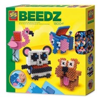 SES Beedz  Iron on Beads 3D Animal Boxes