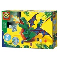 SES Casting and Painting  Glow in the Dark Dragon