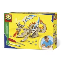 SES Wooden Dragon Construction Set