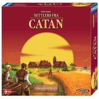 Settlers of catan Boardgame Danish