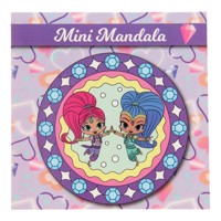 Shimmer & shine mini mandala coloringbook