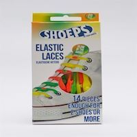 Shoeps  Elastic Shoelaces  Glow in The Dark 50076E