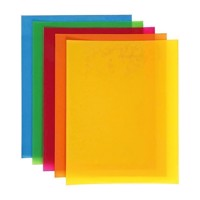 Shrink film  Strong colors, 10 sheets