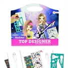 Sketchbook Fashion Rockster with Stickers and Templates