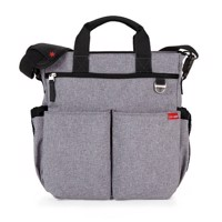 Skip Hop  Signature Duo Diaper Bag  Heather Grey
