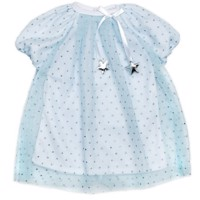 Skrållan - Dolls Clothing - Lightblue Party Dress