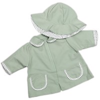 Skrållan - Dolls Clothing - Raincoat and Hat