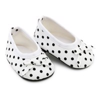 Skrållan - Dolls Clothing - Shoes with dots