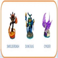 Skylanders Imaginators  Triple Pack  Smolderdash  Dunebug  Cynder