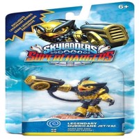 Skylanders SuperChargers Legendary Hurricane JetVac Exclusive Legendary Series