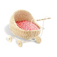 Smallstuff - Doll Stroller - Nature (51001-05)
