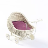 Smallstuff - Doll Stroller - Off White (51001-02)