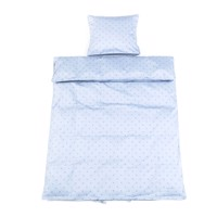 Smallstuff - Junior Bedding 100x140 cm - Light Blue Starut