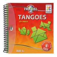 SmartGames Tangram French Travel Game  Les Objets