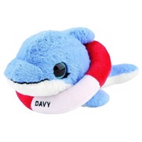Snukis - 18 cm Plush - Davy the Dolphin