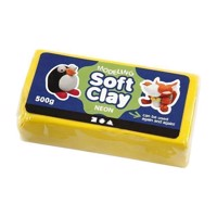 Soft Clay  Yellow, 500gr