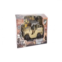 Soldier Force - Quick Vehicle Jeep desert