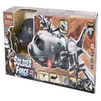 Soldier Force - VIII AB-115 Shark  Airplane Playset