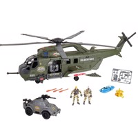 Soldier Force mega helicopter playset