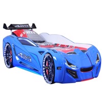 Speedy spoiler 4Wd carbed w led light and sound blue