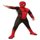 Spiderman Far From Home Deluxe Kostume (3-7 år)(Str. 122/S)