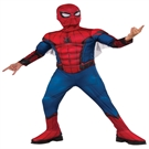 Spiderman Far From Home Deluxe Kostume (3-7 år)(Str. 137/M)