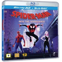 SpiderMan Into The Spider Verse, 3D2D Blu-ray