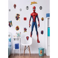 Spiderman Kæmpe Figur Wallsticker