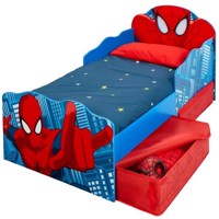 Spiderman bed w storage 140Cm