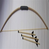Sportsbow 120cm with 3 arrows with stop