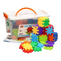 Square Shapes In Storagebox 100Pcs