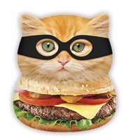 Squishies Large Burger Cat