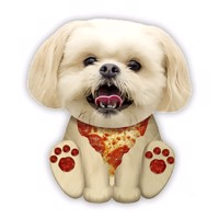 Squishies Large Pizza Dog