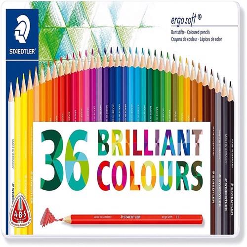 Staedtler Coloured pencil ergosoft 36 pcs FSC