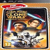 Star Wars Clone Wars Republic Heroes Essential - PS Portable