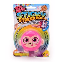 Sticky stretchball monkey