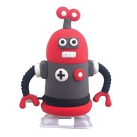 Super Dough Robot  Red  Black