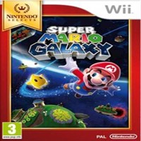 Super Mario Galaxy Nintendo Select - Wii